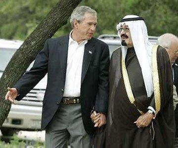 Aznar: Habría que dar a Cuba el mismo tratamiento que a Libia - Página 2 Bush-saudi-king-3