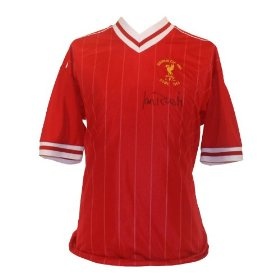 Ian Rush Signed Liverpool 1984 European Cup Shirt