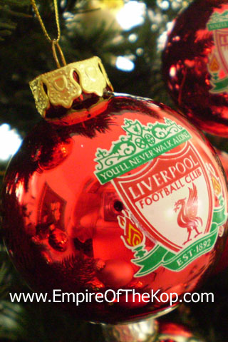 Iphone L F C Christmas Wallpaper The Empire Of The Kop