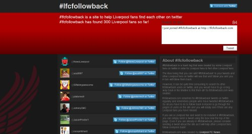 lfcfollowback.com Site Launched