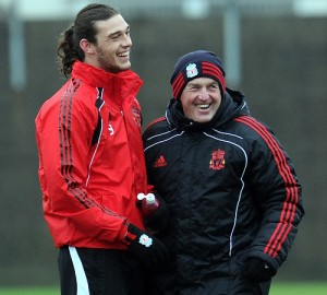 Andy Carroll back in full training with the team