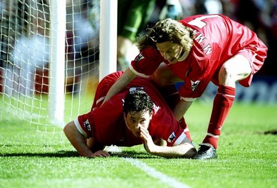 Liverpool v Everton Robbie Fowler
