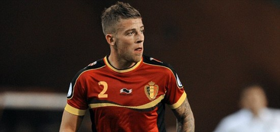 Belgium's defender  Toby Alderweireld co