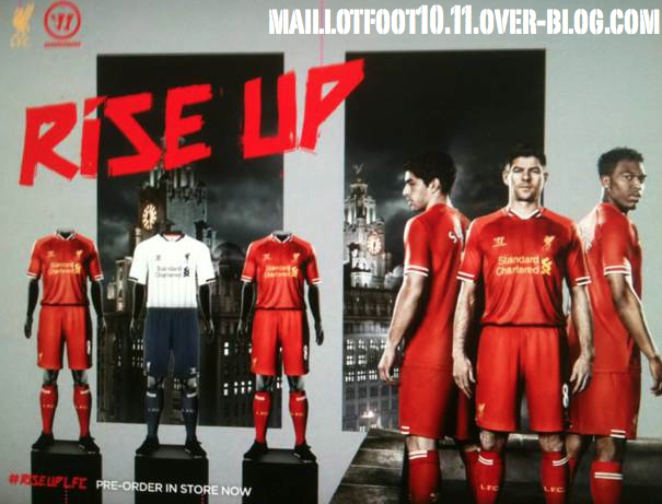 Liverpool's 2013-14 Home Kit.