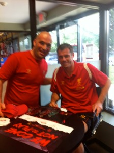 Jamie Carragher and I