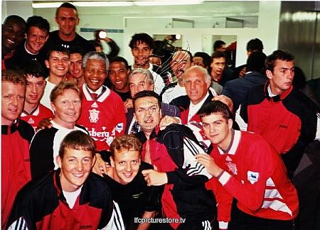 Nelson Mandela meets LFC