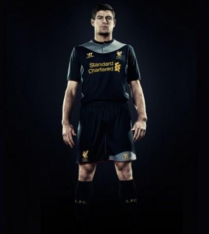 LFC's away kit 2012-13