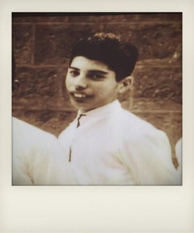 Luis Suarez as a young boy