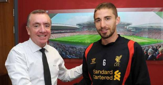 Fabio Borini and Ian Ayre