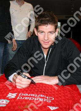 Win a Steven Gerrard shirt