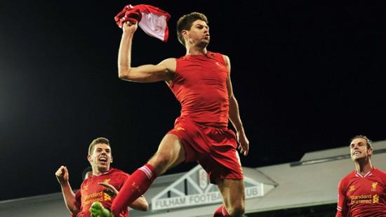 Liverpool's Steven Gerrard