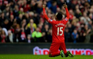 Sturridge is in pursuit of van Nisterooy's record