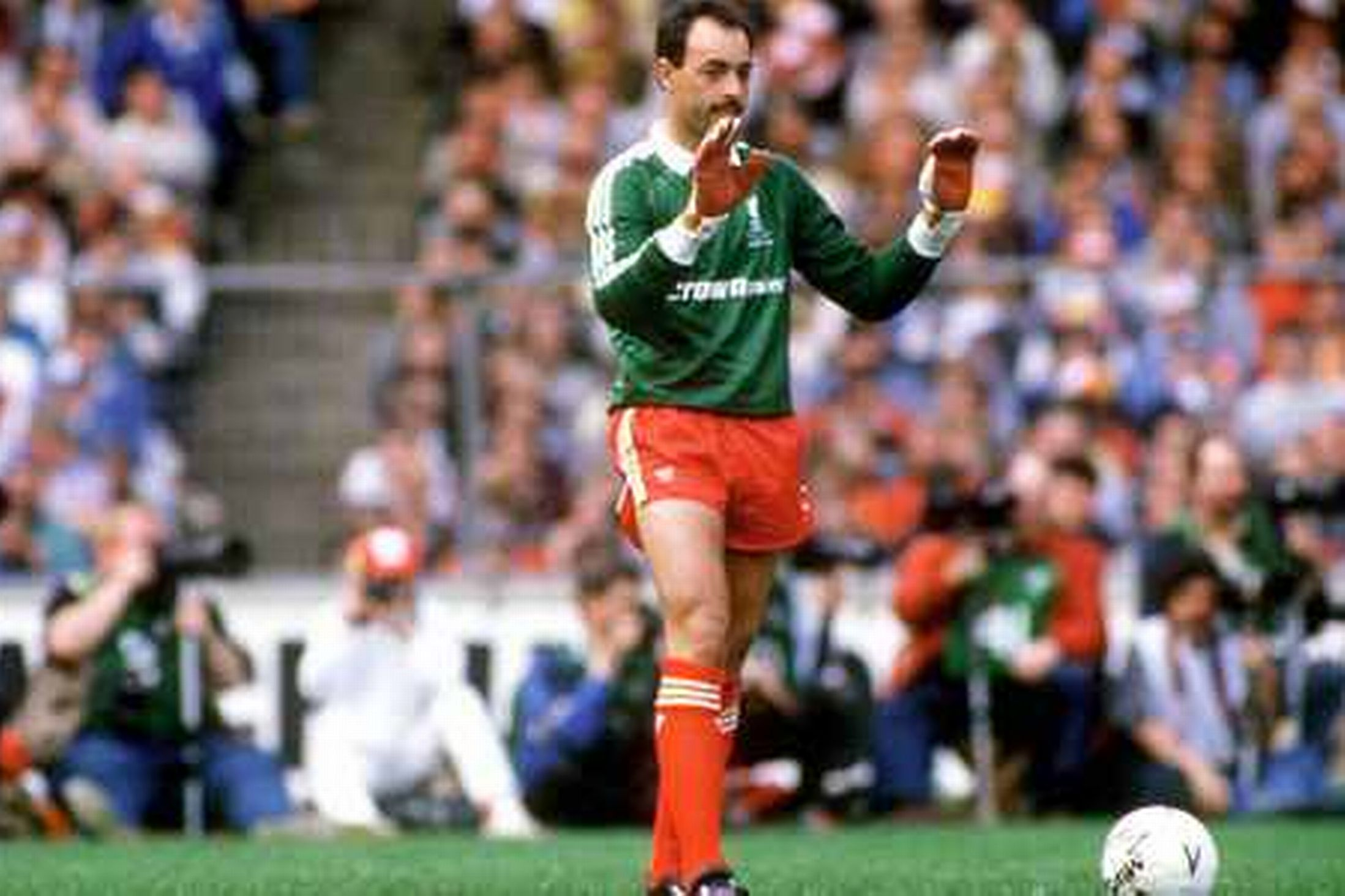 Bruce Grobbelaar shares how football and Liverpool saved his life