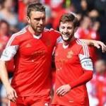 Lallana and Lambert will be reunited at Anfield.