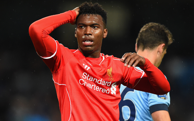 Daniel Sturridge injury – striker aggravates thigh problem and will miss Crystal Palace match