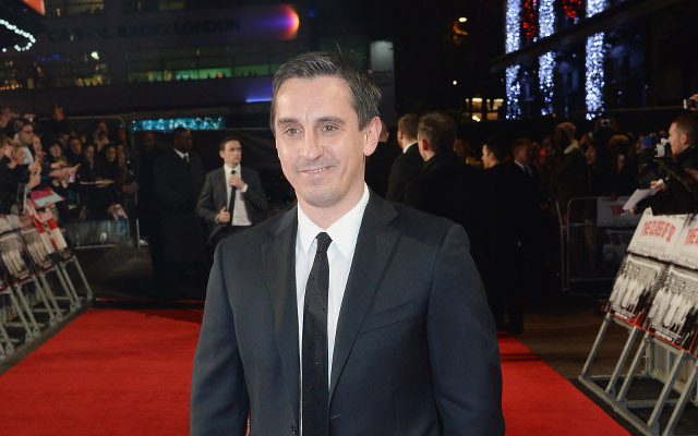 Former Manchester United defender Gary Neville winds up Liverpool fans on Twitter