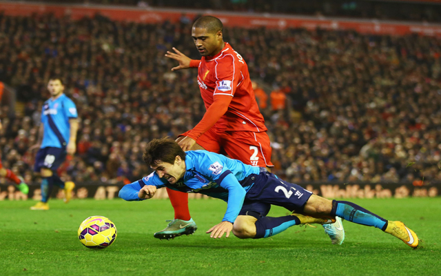 Twitter shocked by Glen Johnson's inclusion in Liverpool XI for Blackburn Rovers FA Cup Fixture