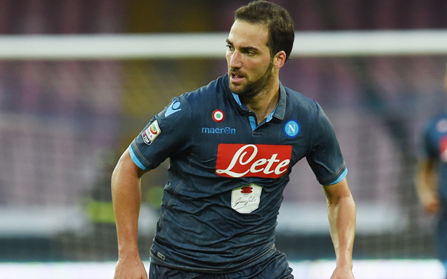 Gonzalo Higuain comments quash speculation linking him with Liverpool move