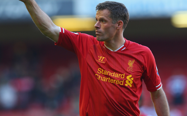Jamie Carragher recalls when Steven Gerrard wiped out Paul Ince in training