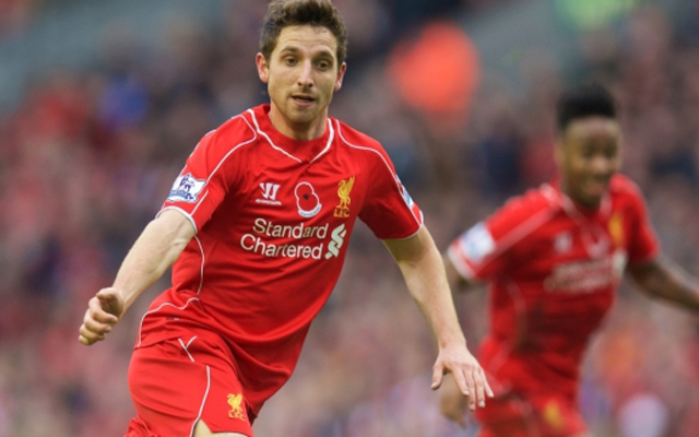 Joe Allen is desperate for a Liverpool win versus Manchester United