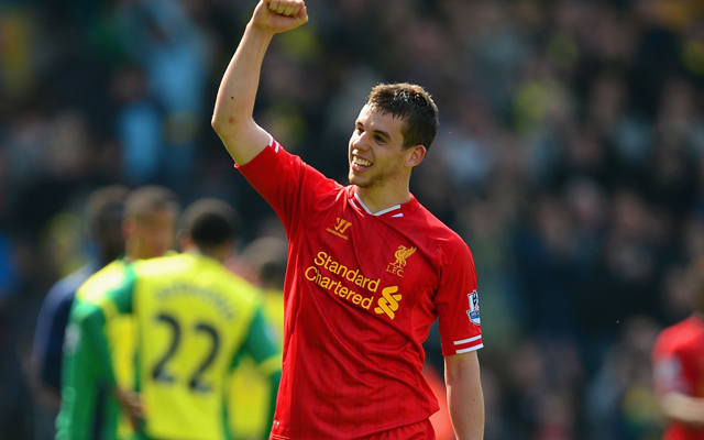 Jon Flanagan is back in Liverpool training, and Steven Gerrard is close to return, too
