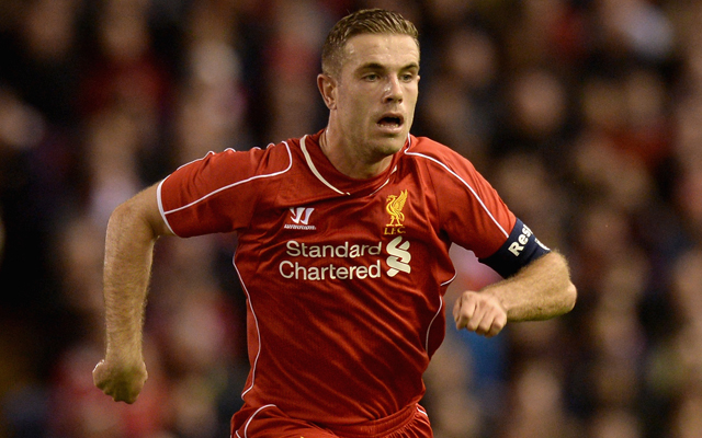 Jordan Henderson desperate to provide more goals for Liverpool
