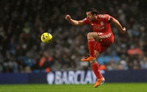 Liverpool's Spanish footballer Jose Enri
