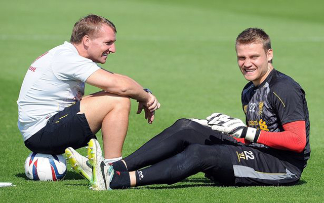 Brendan Rodgers confirms goalkeeper Simon Mignolet has been dropped 'indefinitely'