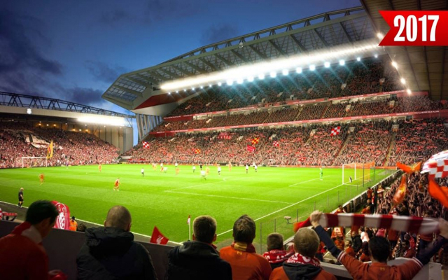 Liverpool's stadium expansion will see us equal Chelsea's match-day revenue
