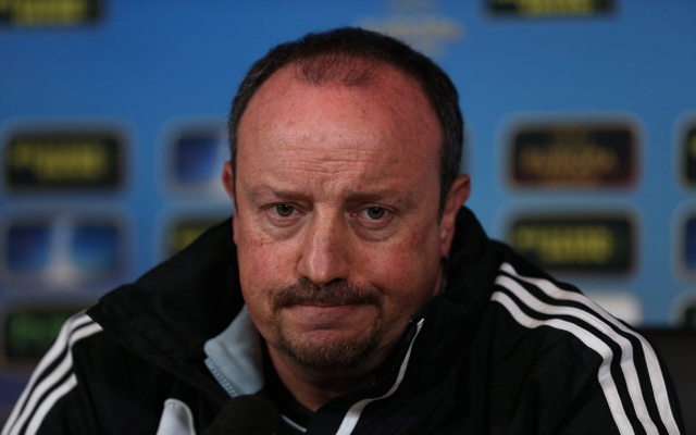 Rafa Benitez is inches away from Napoli sack