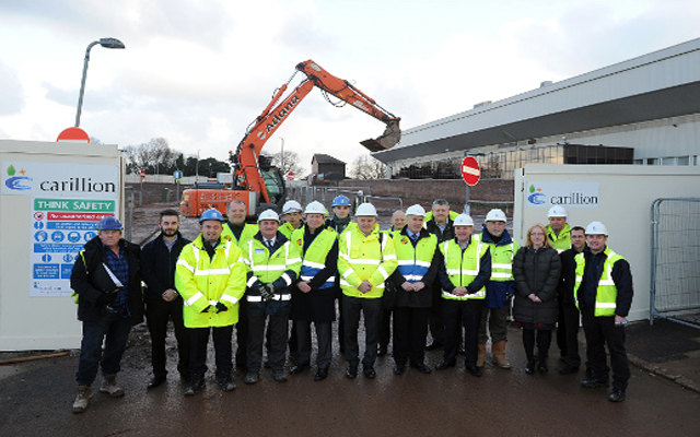 (Image) Redevelopment begins on expansion of Anfield's main stand
