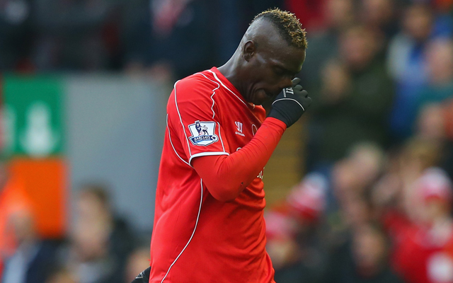 (Image) Mario Balotelli went out in Manchester on Saturday, after missing Villa game with illness