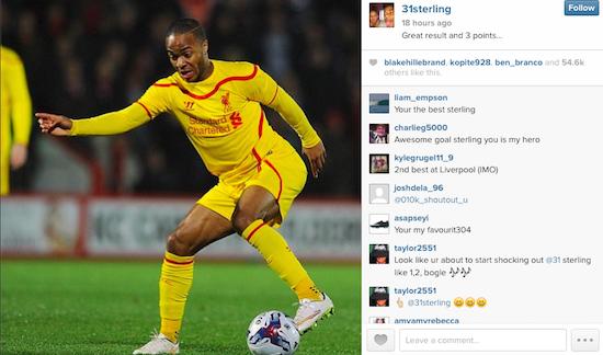 Sterling Instagram