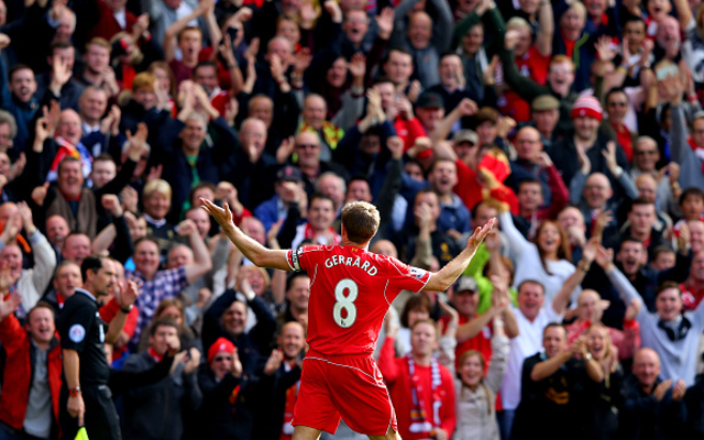 Steven Gerrard moves ahead of Ian Wright in all-time Premier League goalscoring list