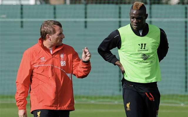 Mario Balotelli's Liverpool career is far from over, says Brendan Rodgers, who demands 'intensity and focus'