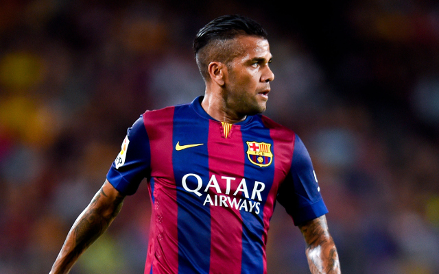 Dani Alves annoyingly taps up Coutinho for club he doesn't even play for…