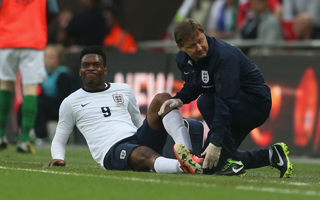 Daniel Sturridge could be out until November; Reds remaining positive