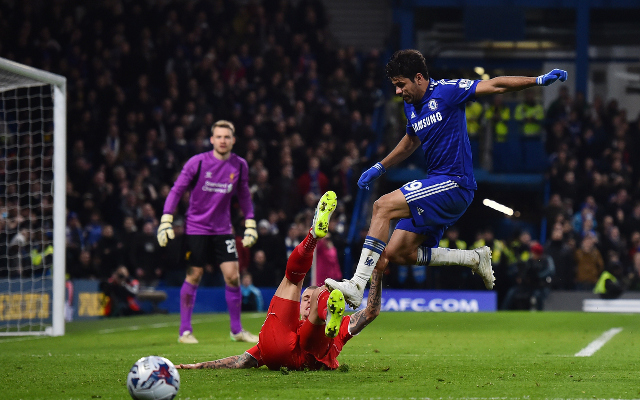How Liverpool fans reacted on Twitter to Diego Costa's stamps for Chelsea