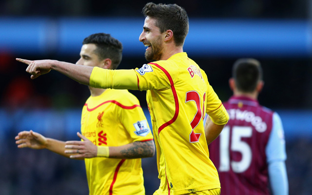 Lazio target Fabio Borini could be first casualty of Liverpool's summer fire sale