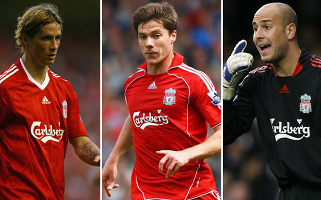 Ranking the 10 best Spaniards to ever play for Liverpool: Reina, Torres & Alonso battle for top spot