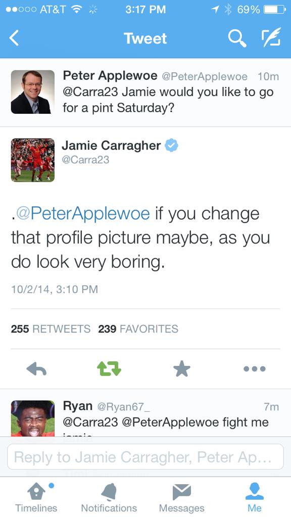 Jamie Carragher Tweet 8