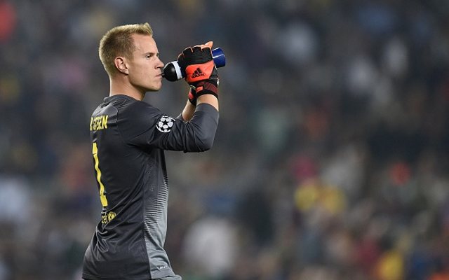 Marc-Andre ter Stegen admits being unhappy, with Liverpool considering 6-month loan