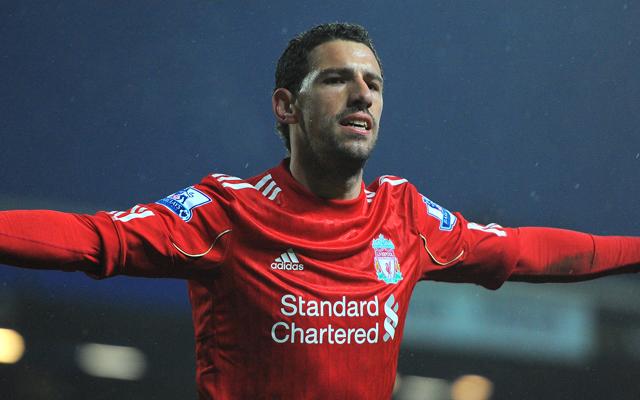 Liverpool's Argentine midfielder Maxi Ro