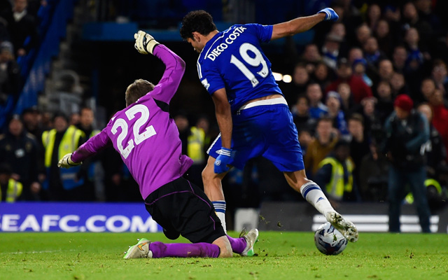 (Video) Back to his best? Relive Simon Mignolet's wonder saves to deny Diego Costa