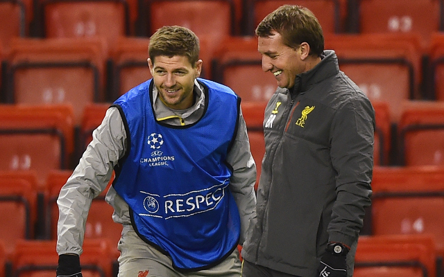 Brendan Rodgers: 'Steven Gerrard will probably play tomorrow…'