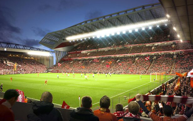 (Images) Latest camera shots of Anfield's main stand re-development