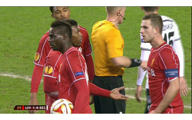 (Videos) Balotelli/Sturridge/Henderson penalty debacle & Gerrard's furious reaction…