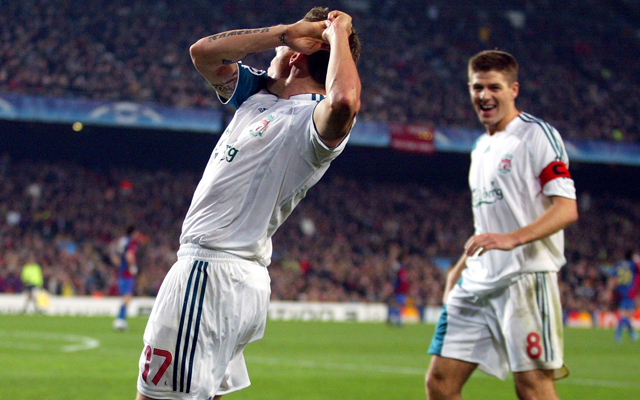 (Video) On this day… Craig Bellamy celebrates his goal against Barcelona with a golf swing!