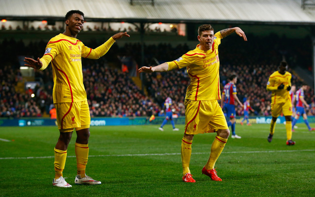 (Video) Amazing! Watch the seven best Liverpool celebrations ever, including Daniel Sturridge & Alberto Moreno
