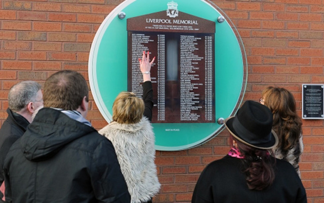 Liverpool announce full details of 2015 Hillsborough Service